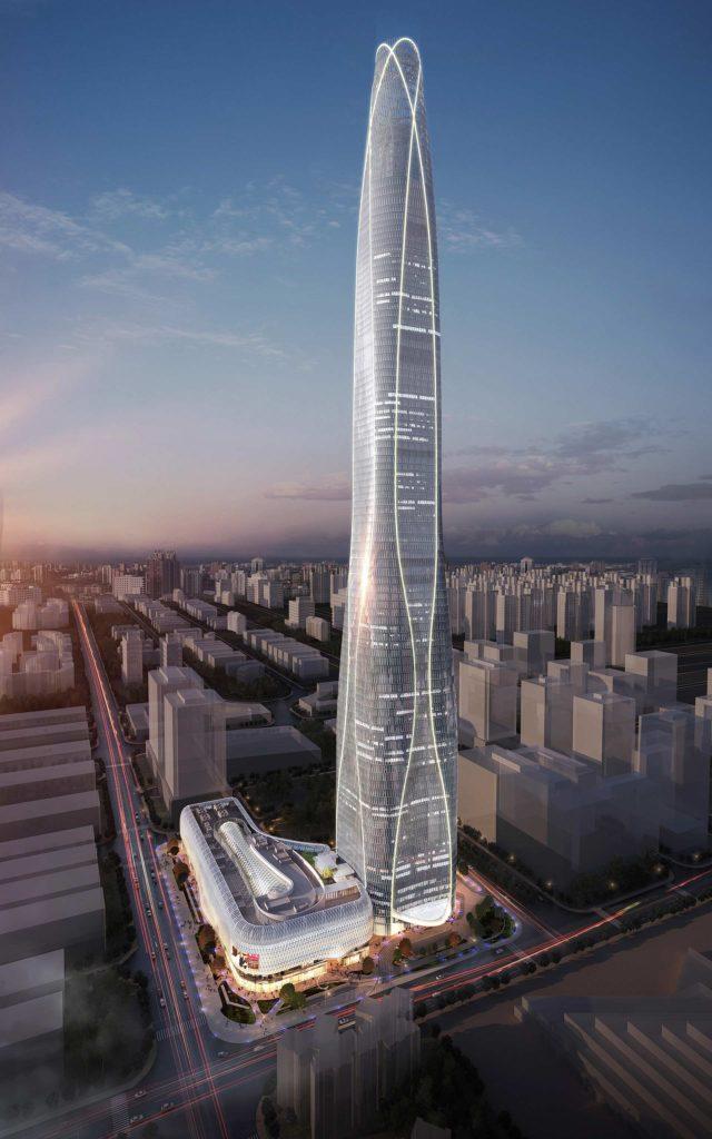 Látványterv, a kép a China Construction Eighth Engineering Division Corp., Ltd. tulajdona.