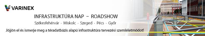 Infrastruktúra nap roadshow