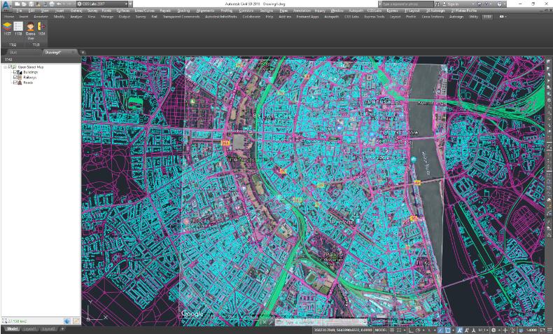 Az Open Street Map (OSM) adatbázisának használata segítségünkre lehet a tervezés során